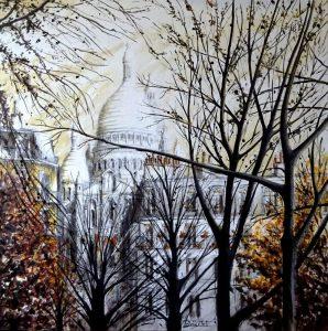 Les arbres de la Place d'Anvers - Paris